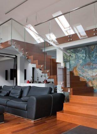 stylowe schody dywanowe wewnętrzne